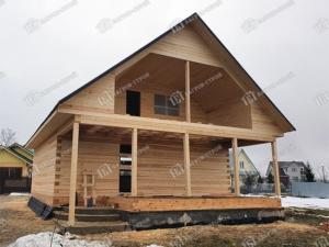 Отзыв о строительстве дома 9х11 Гостимир, Вологодская обл., Шекснинский р-он