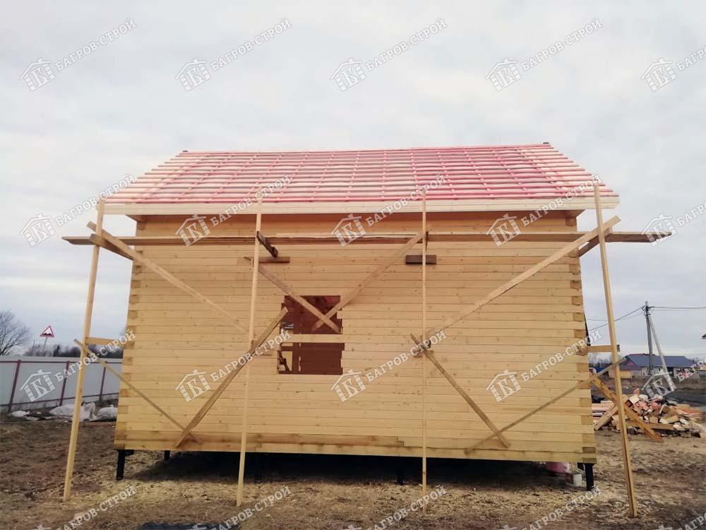 Дом из бруса 7,5х8 Елисей, Ленинградская обл., Тосненский р-он