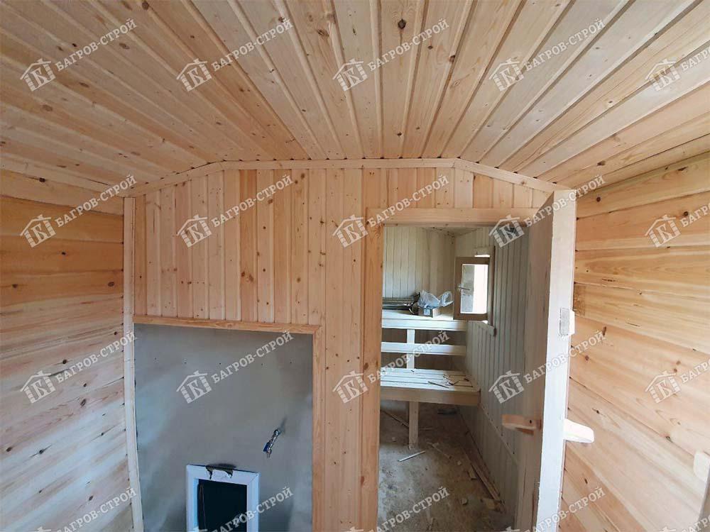 Готовая баня 7 на 2.3м, Новгородская обл, Чудовский р-он