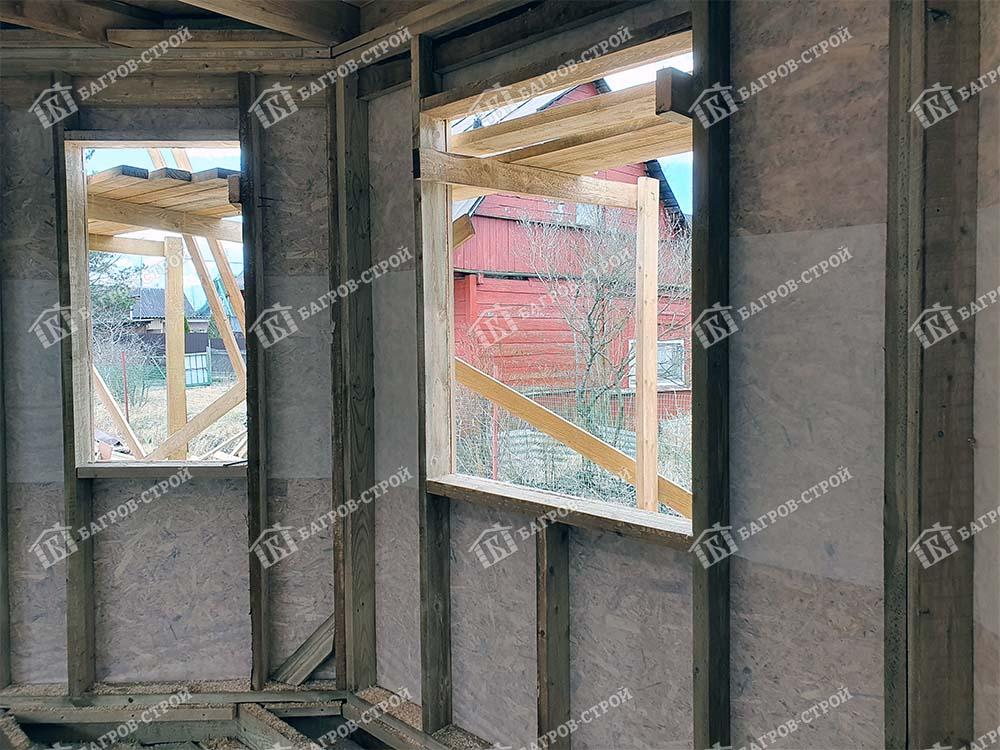 Каркасный дом 7х8 Оскар, Ленинградская область, Всеволожский район