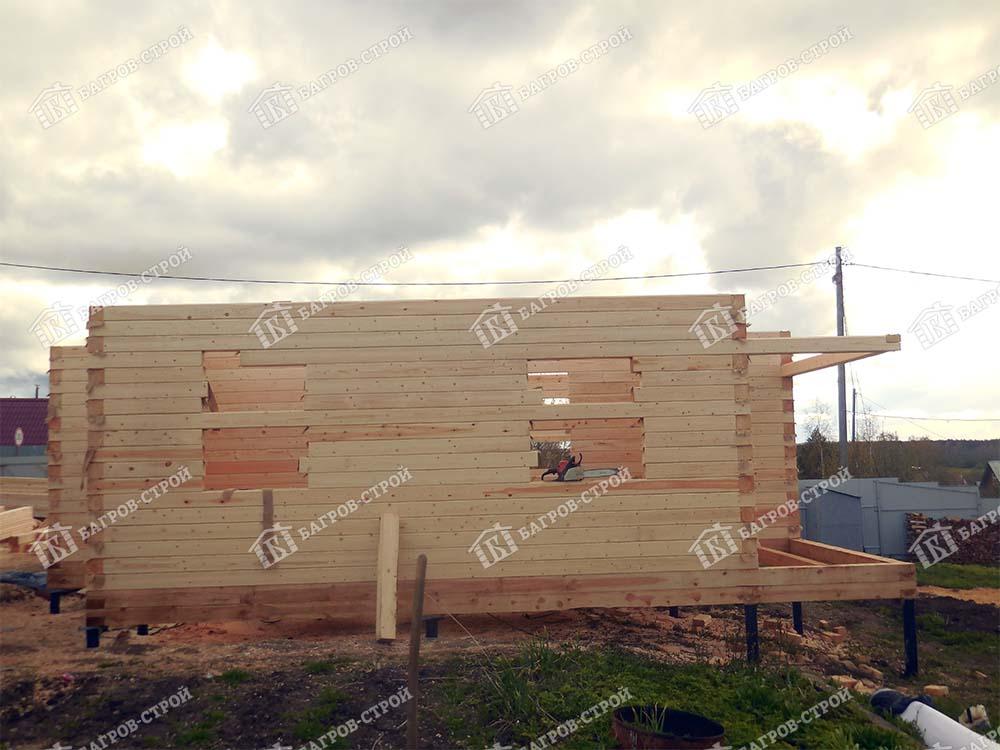 Дом из бруса 9х9 Капитон, Вологодская обл., череповецкий р-он