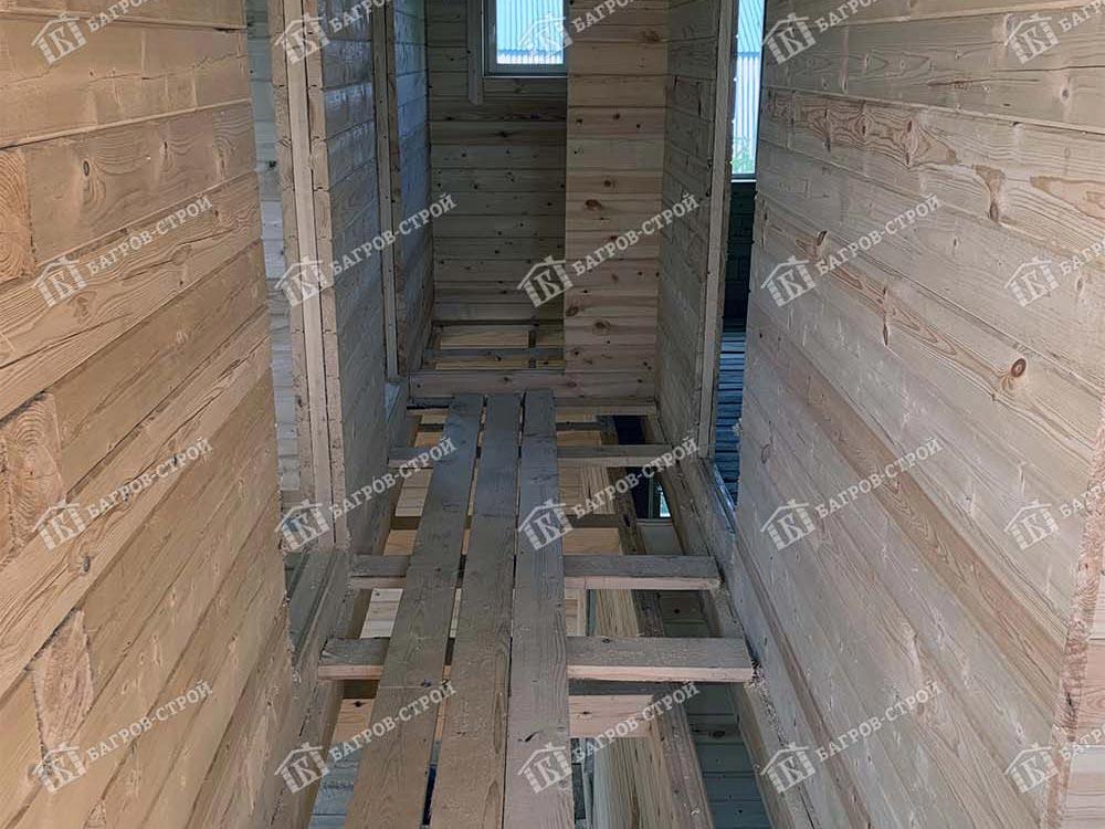 Дом из бруса 8х8 Руслан, Московская обл., Коломенский р-н