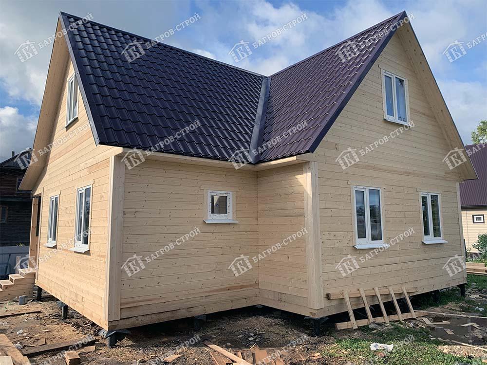 Дом из бруса 9х9 Капитон, Вологодская область, Вытегорский район