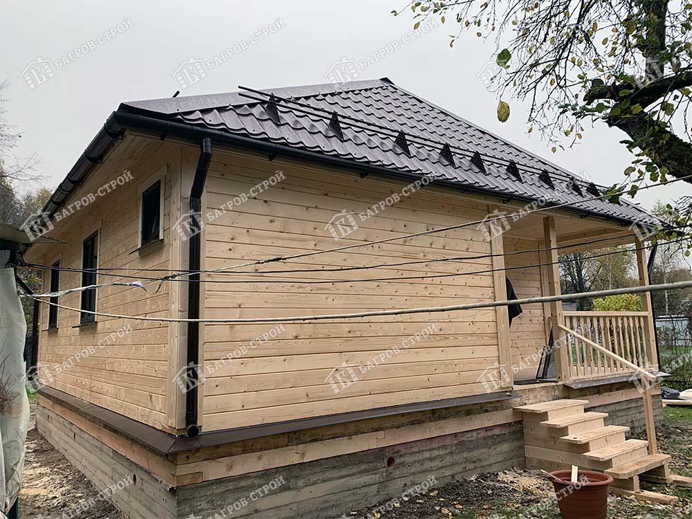 Дом из бруса 8х9 Бахтияр, Московская область, Мытищинский район