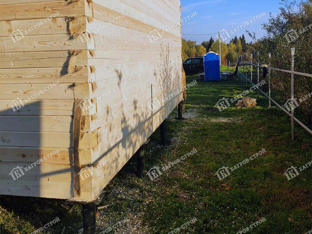 Дом из бруса 6х6 Даромир, Московская область, Солнечногорский район