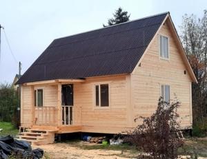 Отзыв о строительстве дома из бруса, Ленинградская область, Кингисеппский район