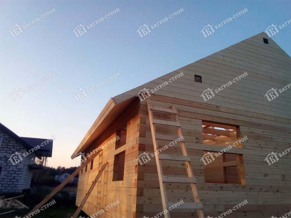 Дом из бруса 8х11 Вассиан, Ленинградская обл, Всеволожский р-он