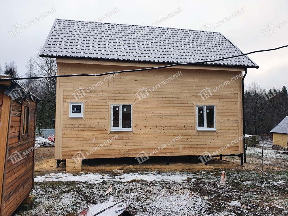 Дом из бруса 7х9 Арсений, Ленинградская обл, Выборгский р-он