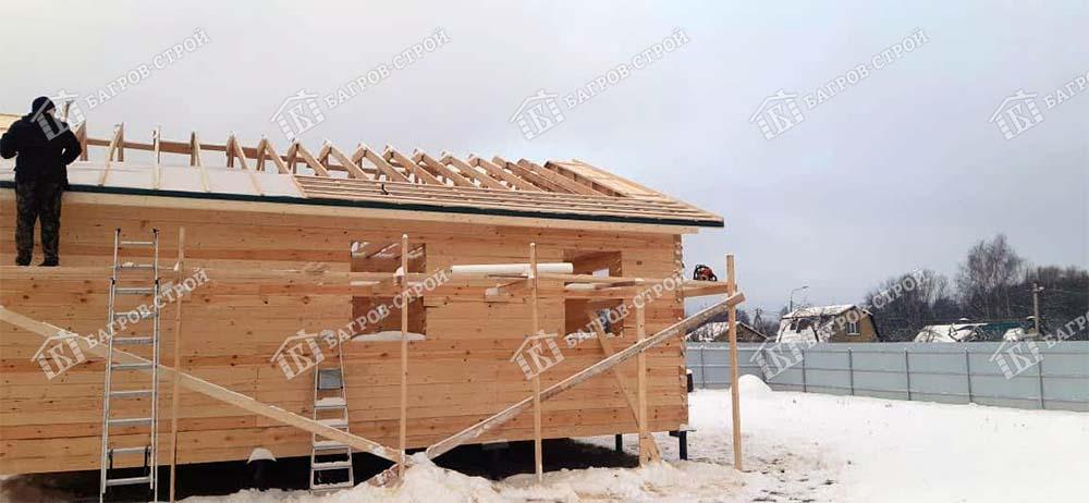 Дом из бруса 8,5х10,5 Илларион, Московская обл., поселение Роговское