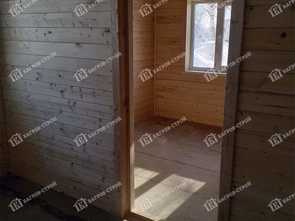 Каркасный дом 6х8 Олег, Вологодская область, Череповецкий р-он