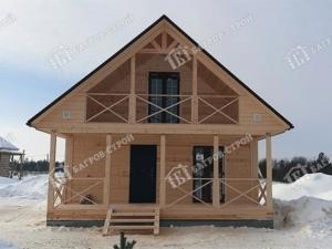 Отзыв о строительстве дома 7х7 Гостимир, Вологодская область, Усть-Кубинский район
