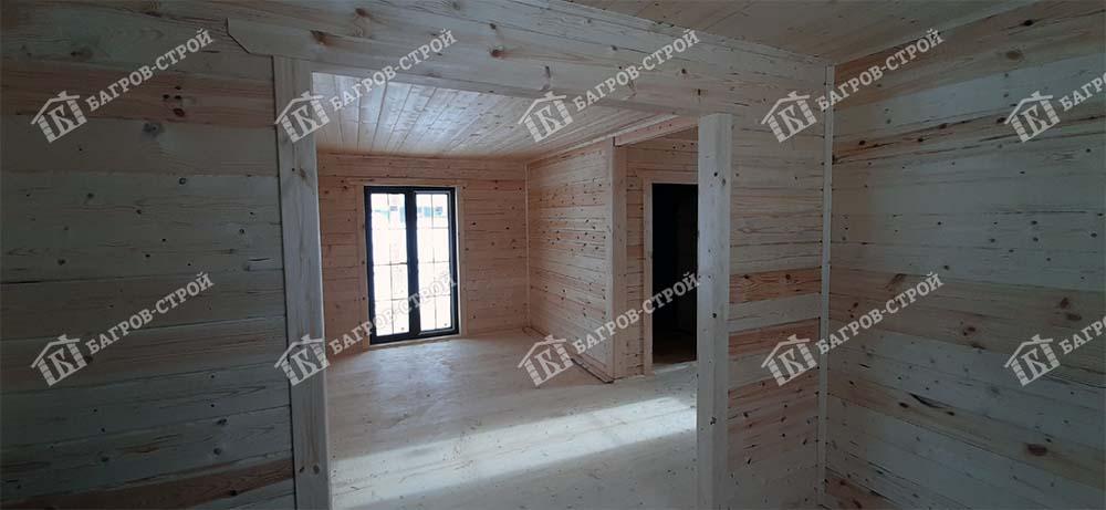 Дом из бруса 7х7 Гостимир, Вологодская область, Усть-Кубинский район