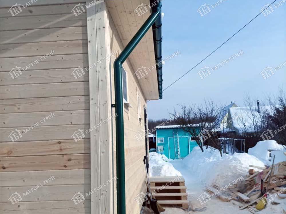 Дом из бруса 7х9 Никанор, Калужская область, Боровский р-он