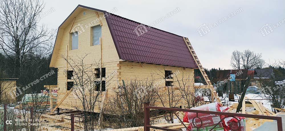 Дом из бруса 6х8 Аполин, Ленинградская обл., Гатчинский р-он