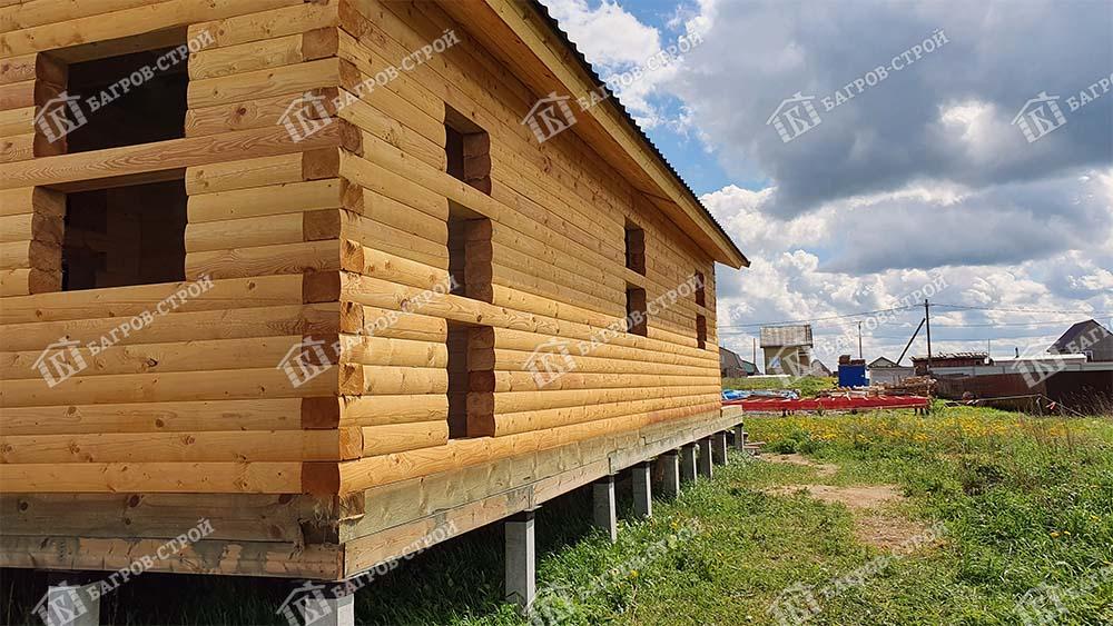 Дом из бруса 8х12 Вассиан, Ленинградская обл., Ломоносовский р-он