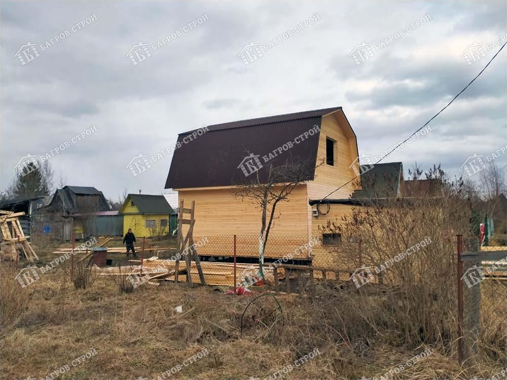 Каркасный дом 6х6 Домослав, Ленинградская обл., Гатчинский район