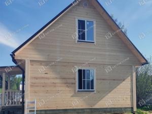 Отзыв о строительстве дома из бруса «Ермак» 6х8м, Тверская обл., Кимрский р-н