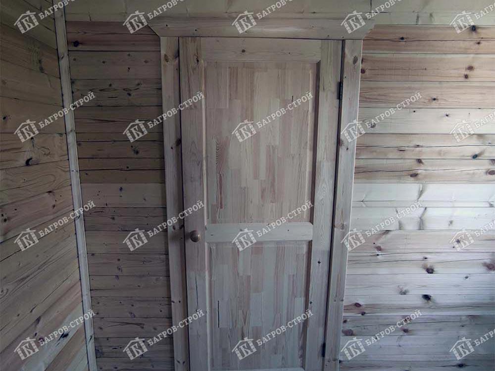 Дом из бруса 6х8 Ермак, Тверская обл., Кимрский р-н