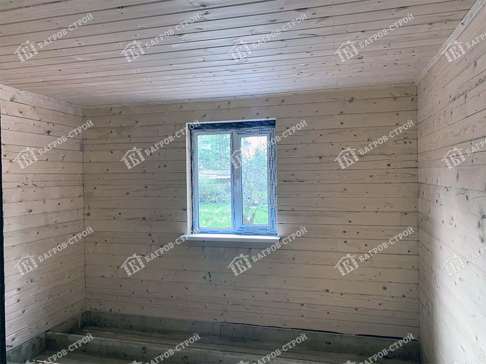 Дом из бруса 8х12 Вассиан, Ленинградская обл., Всеволожский р-он