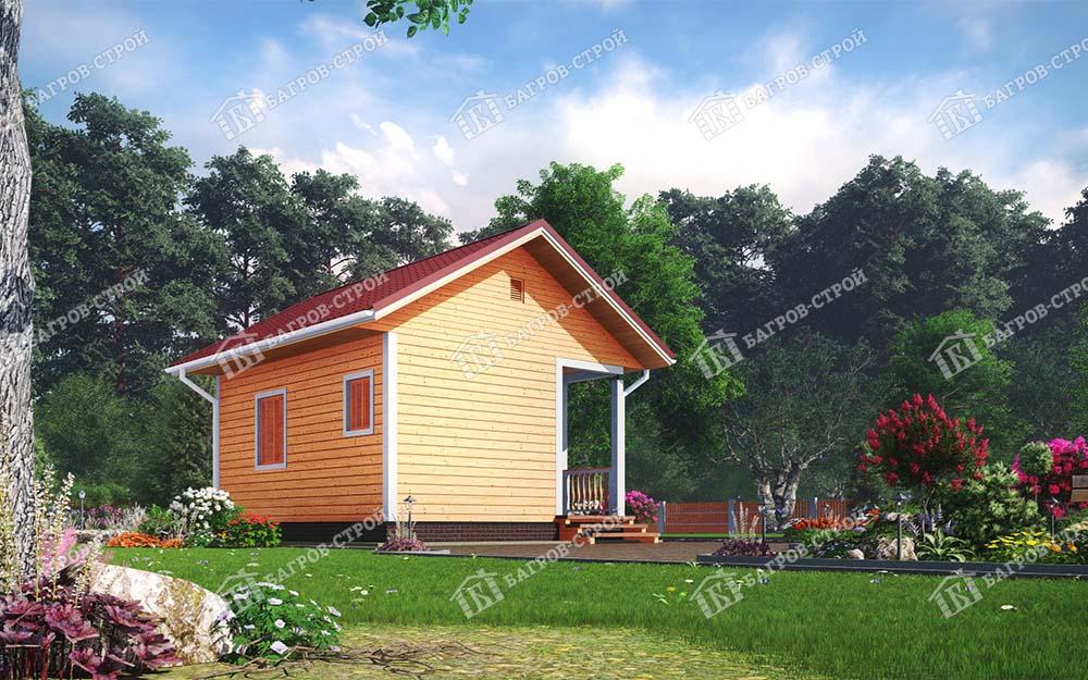 Каркасный дом 5х6 Адриан