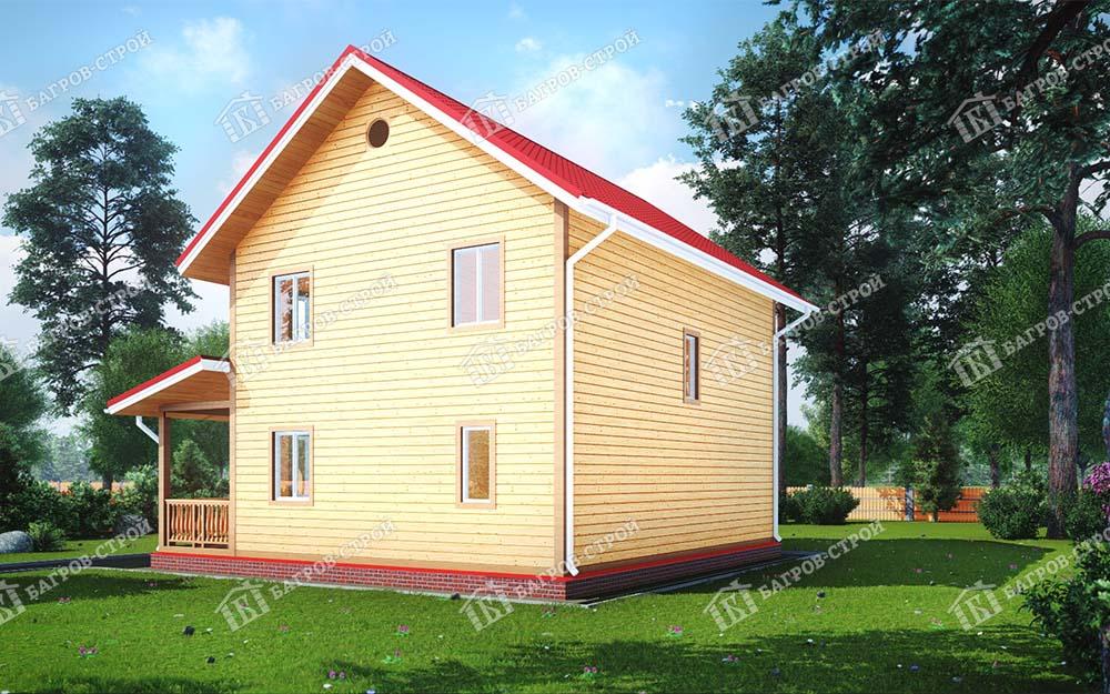 Каркасный дом 7х9 Гвидон