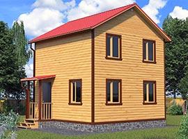 Дом из бруса 6х6 Харитон
