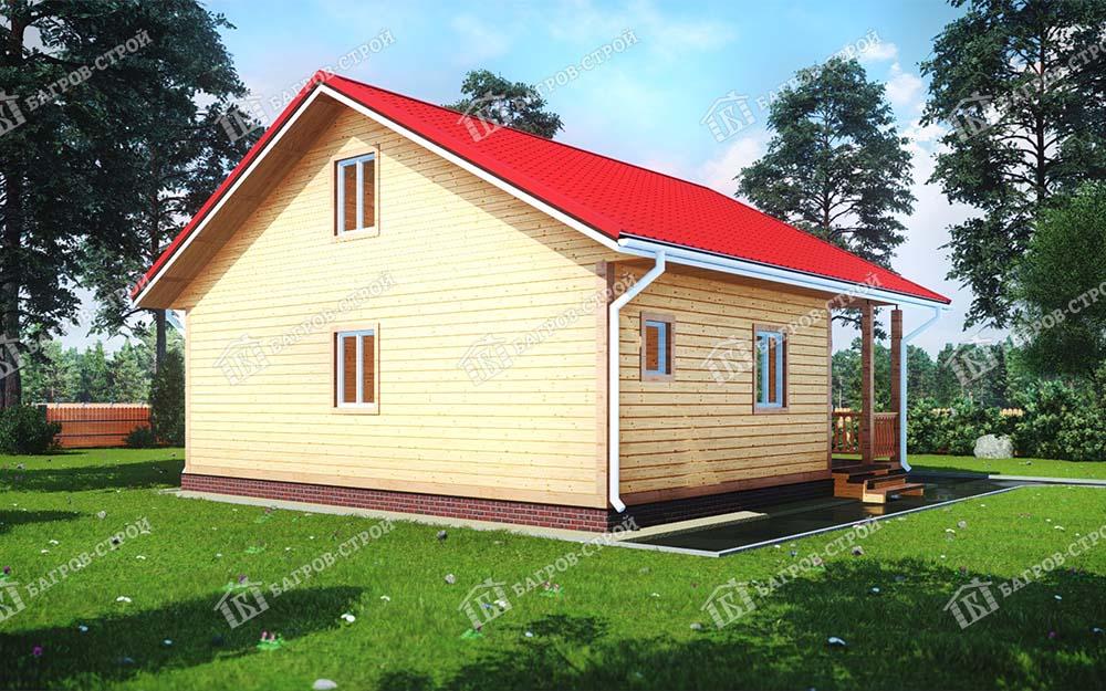Каркасный дом 9х9 Любомир