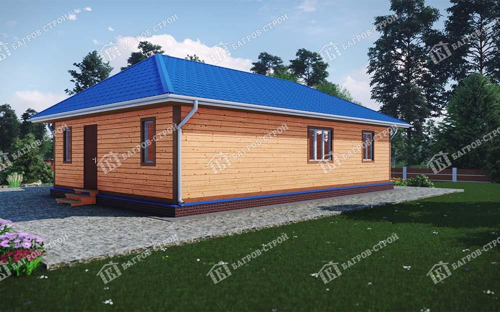 Каркасный дом 8х12 Родион