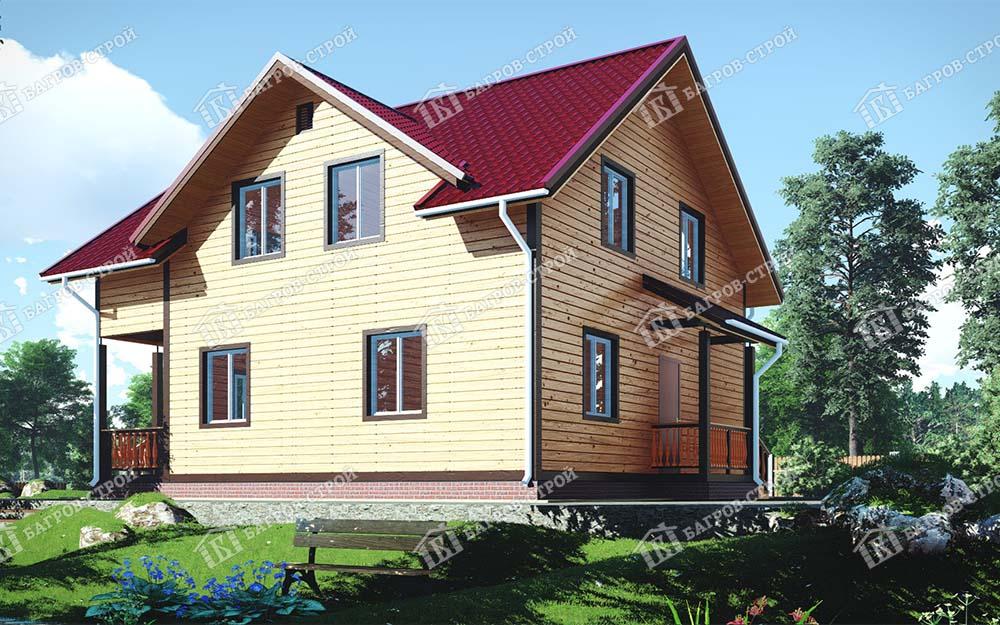 Каркасный дом 9х11 Роман