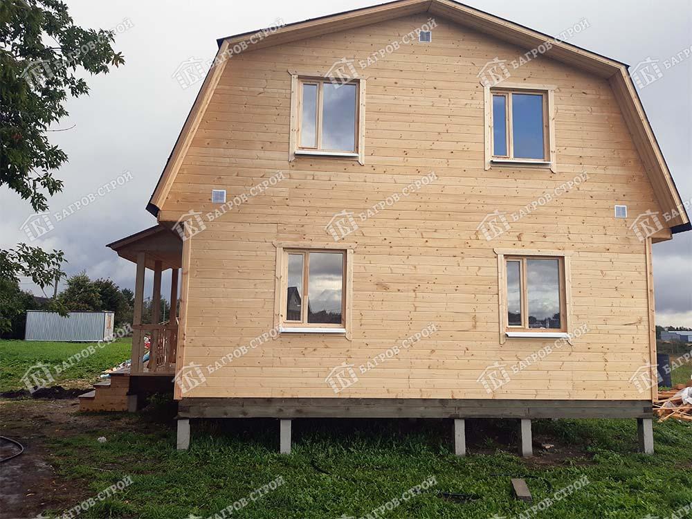 Каркасный дом 7х9 Парамон, Ленинградская обл., Гатчинский р-н