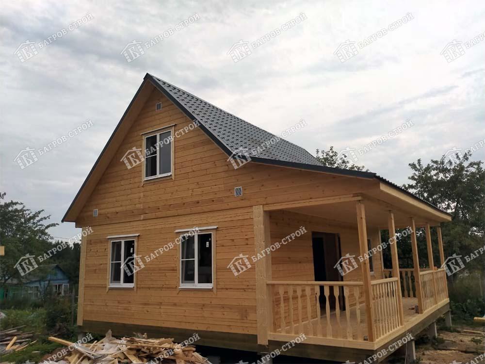 Дом из бруса 6х8 Ермак, г. Ярославль
