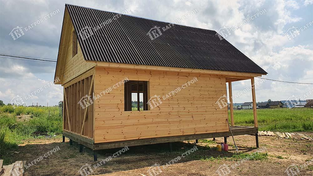 Каркасный дом 6х8 Денис, Ленинградская область, Ломоносовский район