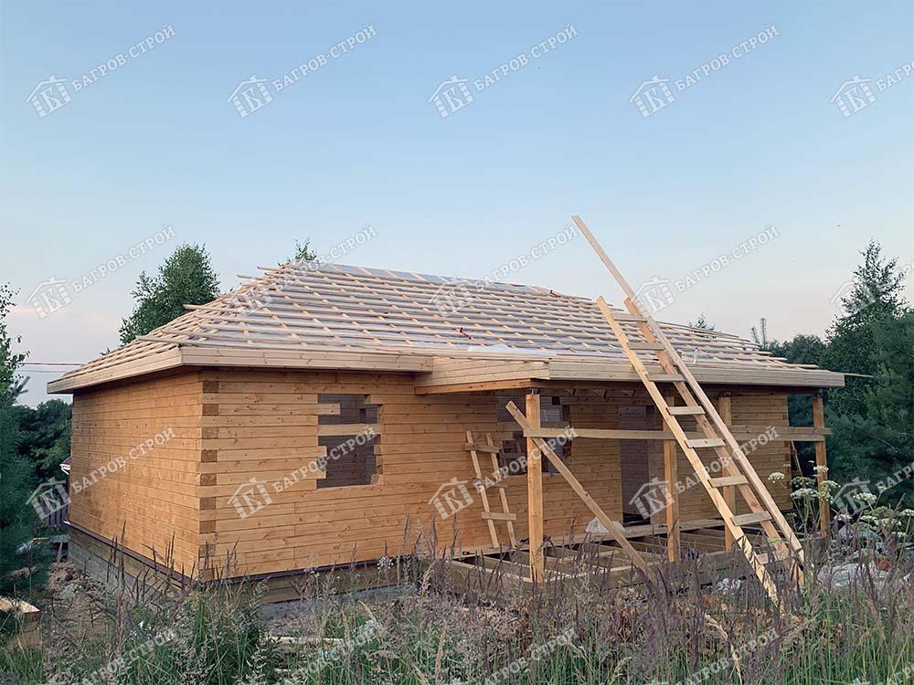 Дом из бруса 8х12 Родион, Тульская обл., Заокский р-н