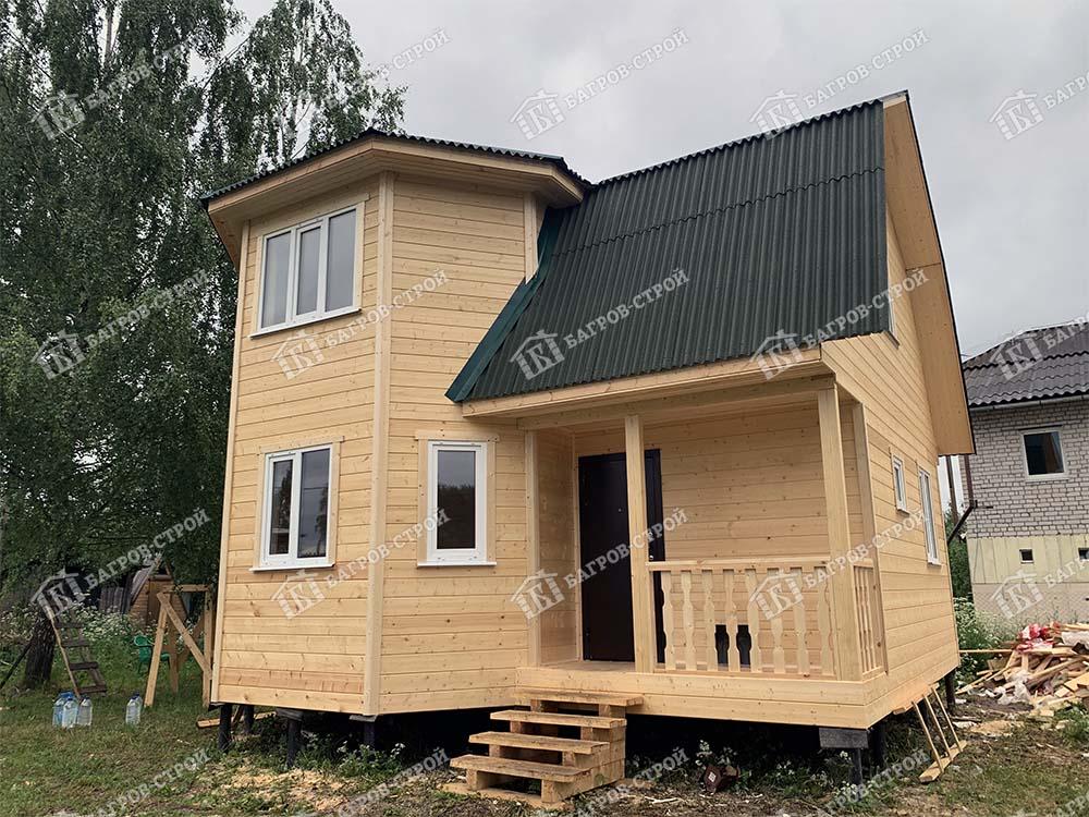 Каркасный дом 7х7 Осип, Тверская обл., г. Тверь